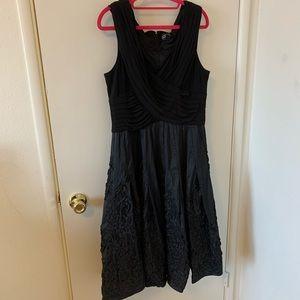 Adrianna Papell black evening dress size 16